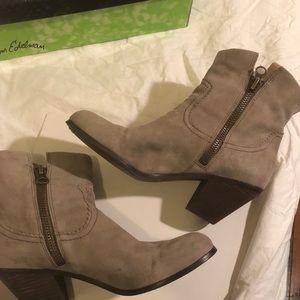 Sam Edelman boots with fringe